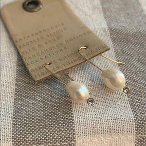 Anthropologie Jewelry - Mackenzie drop pearl earrings